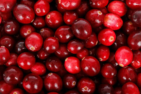 Cranberries rich in iodine