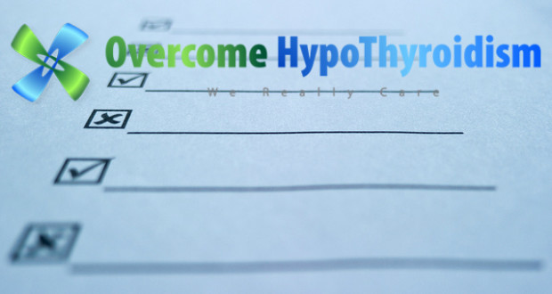 hypothyroifidm symptoms checklist overcome hypothyroidism