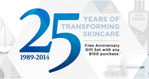 Murad 25 Anniversary special sale coupon