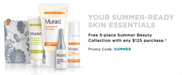 Murad coupon Free cosmetic bag